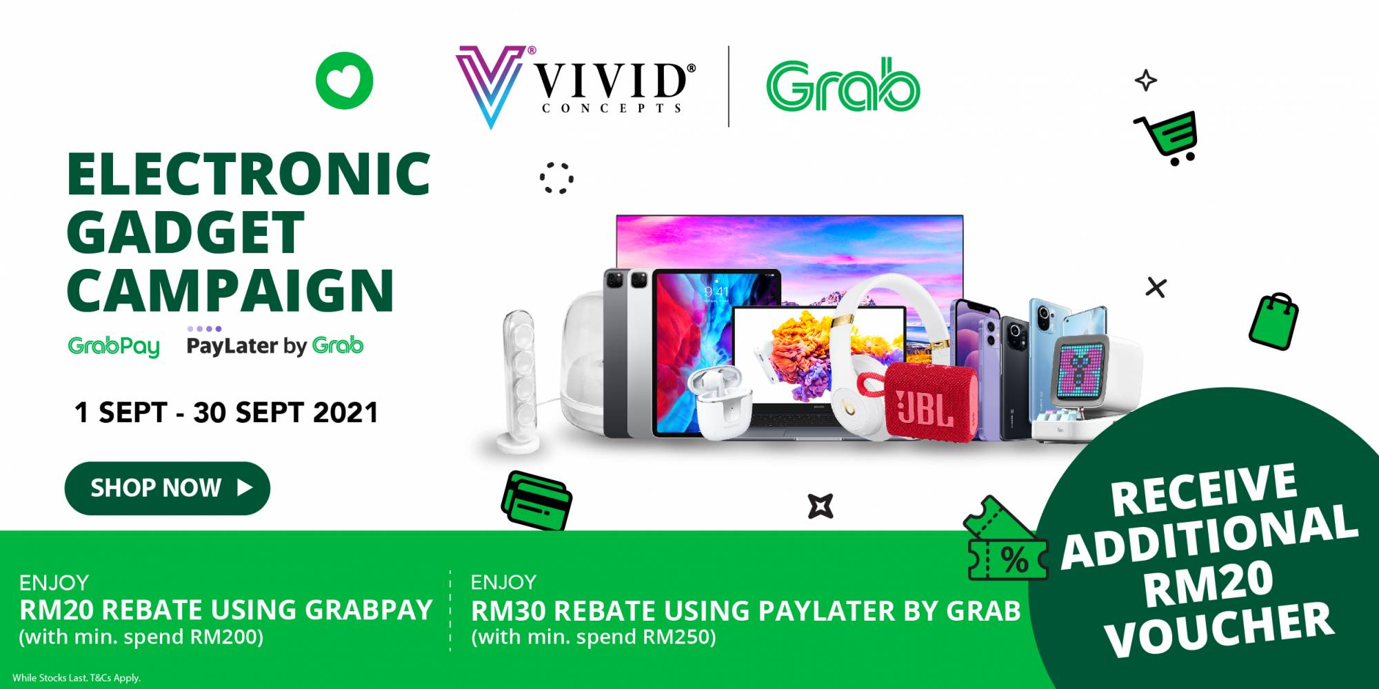 We're On Grab Shopping!!!