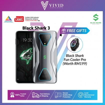 [MY SET] BlackShark 3 5G [8GB+128GB/12GB+128GB]