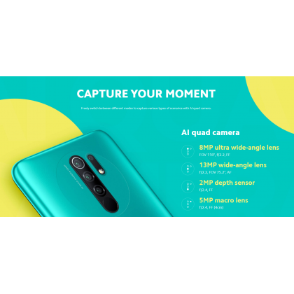 [MY SET] Xiaomi Redmi 9 [4GB+64GB]