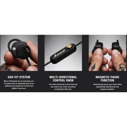 Marshall Minor II Bluetooth In-Ear Headphone