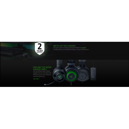Razer Kraken X USB with 7.1 Surround Sound & Ultra Light Comfort