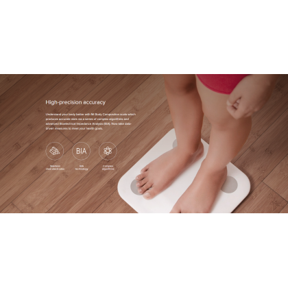 Xiaomi Body Composition Fat Smart Scale 2 Digital scale LED Display BMI