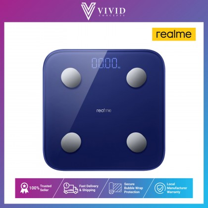 realme Smart Scale 50g High-Precision | 360-day Long Standby | 16 Types of Health Measurement