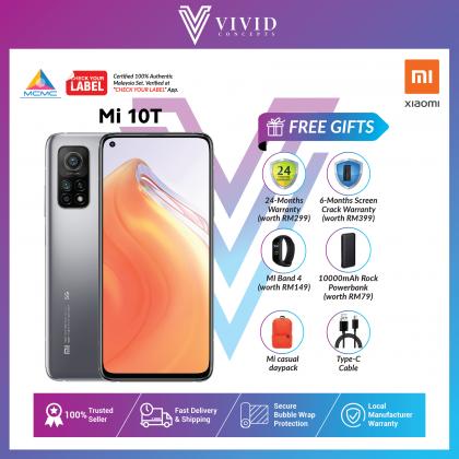 [MY SET] Xiaomi Mi 10T 5G 64MP Basic Set / Full Set [8GB+128GB]  Mi10T Mi10 T