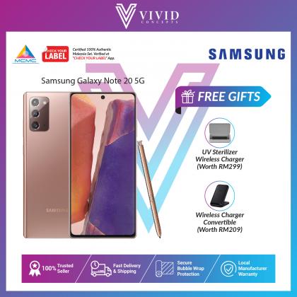 Samsung Galaxy Note20 4G & 5G / 256GB