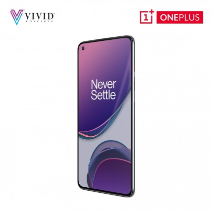 [MY SET] OnePlus 8T 5G 120HZ 65W 4500mAh 256GB ROM + 12GB RAM - 1 Year Warranty