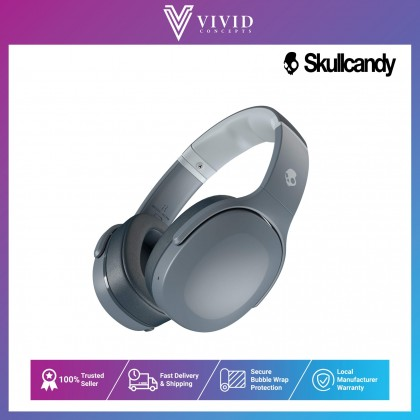 Skullcandy Crusher Evo Sensory Bass Headphones with Personal Sound, 40 Hours of Battery + Rapid Charge