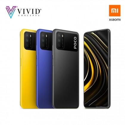 Original Xiaomi POCO M3 Global Version (4GB+64GB / 4GB +128GB) 6000mAh battery 48MP Camera Mobile Phone POCO X3
