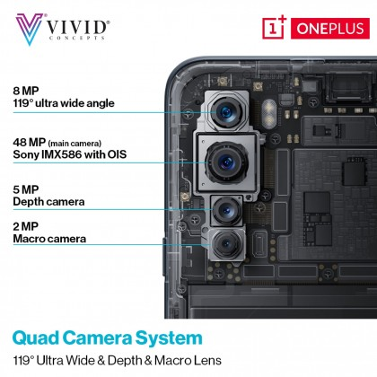 OnePlus Nord [8GB+128GB][12GB+256GB] Smartphone