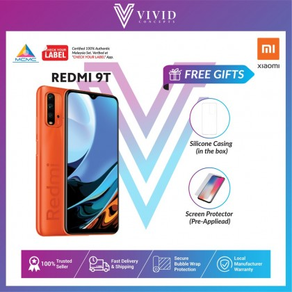 [Crazy Offer] [Original MY SET] Xiaomi Redmi 9T Smartphone [4GB+64GB] [6GB+128GB] #9t