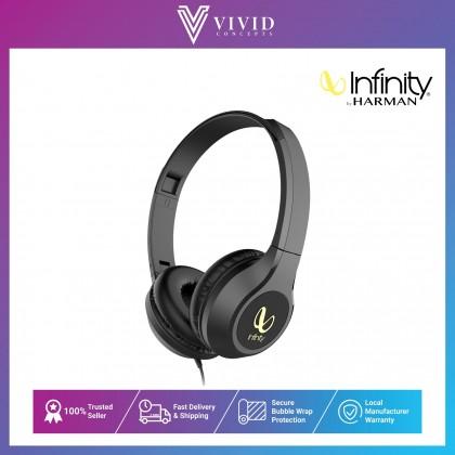 Infinity Wynd 700 Wired On-Ear Headphone - Black