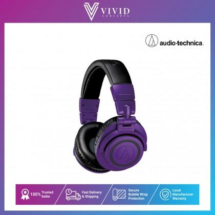 Audio-Technica ATH-M50xBT PB LIMITED EDITION Wireless Over-Ear Headphones - Purple/Black