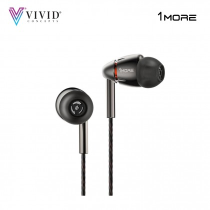 1More Quad Driver Wired In-Ear Headphones World First THX® Certified Headphone