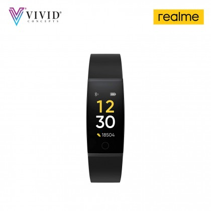 realme Band - Large Color Display, Real-time Heart Rate Monitor