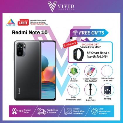 Redmi Note 10 [Crazy Gift] [MY SET] Xiaomi Redmi Note 10 [6GB+128GB] redmi note10 , Note10, Xiaomi Note 10
